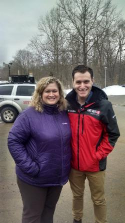 A special visit with Sam Kantrow, a meteorologist from WTNH (channel